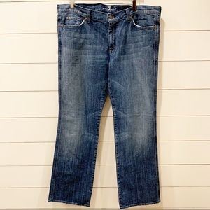 "7 FOR ALL MANKIND ""A"" Pocket 40x34 Denim Jean"